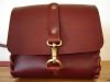 natural leather saddle bags for men and women hand crafted and sewn